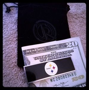 Steelers Money Clip